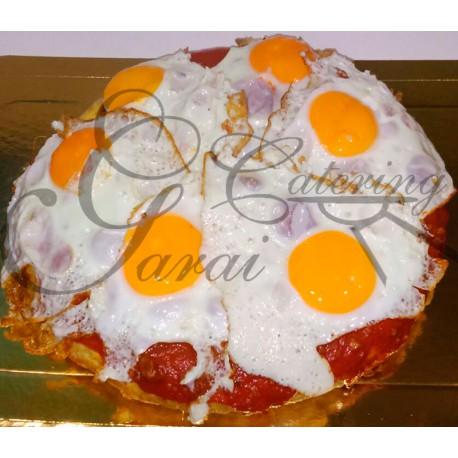 TORTILLA RELLENA (huevos fritos)
