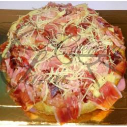 TORTILLA RELLENA (jamon serrano)